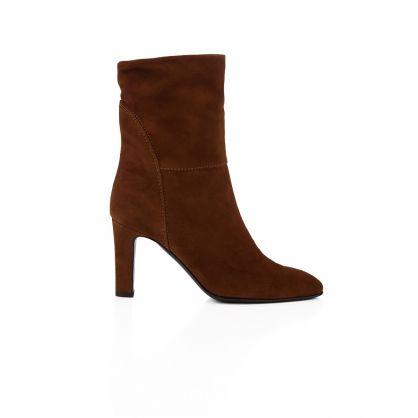 Brown Suede Viviana Boots