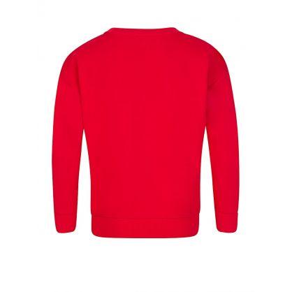 Red Tiger Flower Sweatshirt
