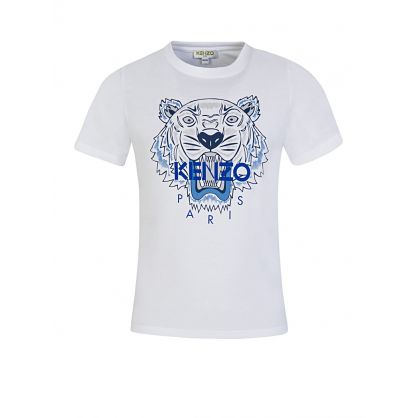 White Tiger Short Sleeve T-Shirt