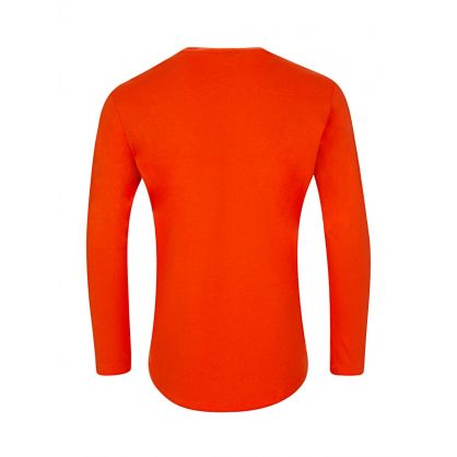 Orange Paris Long Sleeved T-Shirt