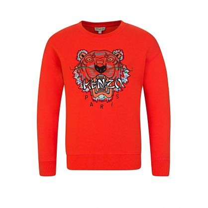 Orange Japan Tiger Sweatshirt