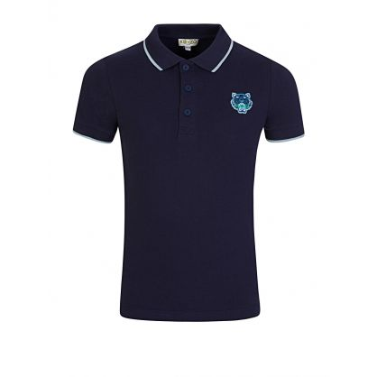 Navy Tiger Polo Shirt