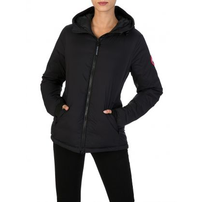Black Camp Hooded Jacket