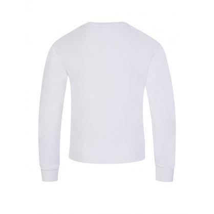 Kids White Milano Sweatshirt