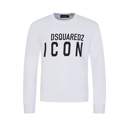Kids White ICON Sweatshirt