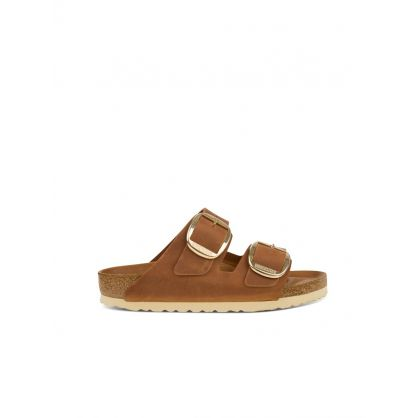 Brown Arizona Big Buckle Sandals