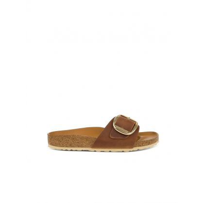 Brown Madrid Big Buckle Sandals