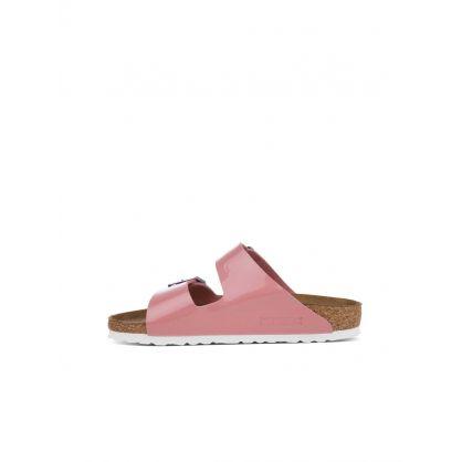 Pink Arizona Birko-Flor Sandals
