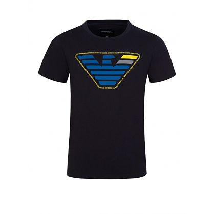 Junior Navy Logo T-Shirt