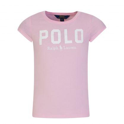Kids Spring II Pink Logo T-Shirt