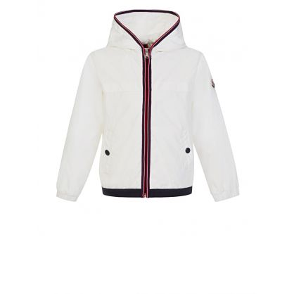 White Anton Raincoat