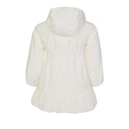 Cream Geranium Hooded Coat