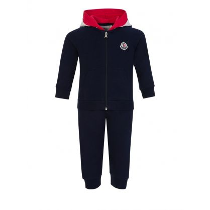 Navy Tracksuit Set