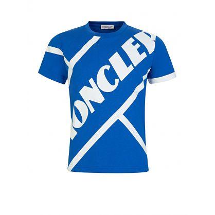 Blue Colossal Logo T-Shirt