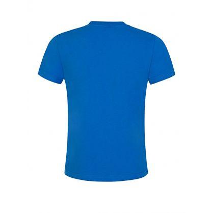 Blue Logo Pocket T-Shirt