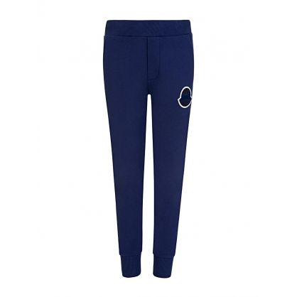 Navy Logo Sweatpants