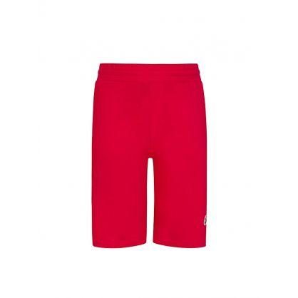 Red Logo Sweat Shorts