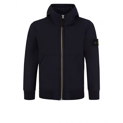 Junior Blue Soft Shell Hoodie