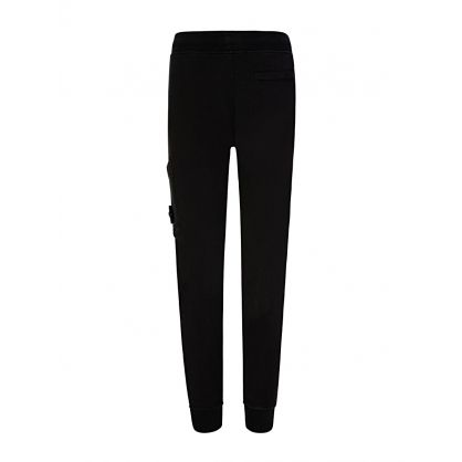 Junior Black Fleece Sweatpants