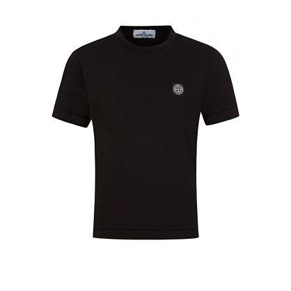 Junior Black Patch T-Shirt