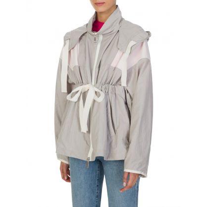Grey Belted Jacket