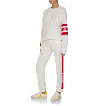 White Stripe Sweatpants