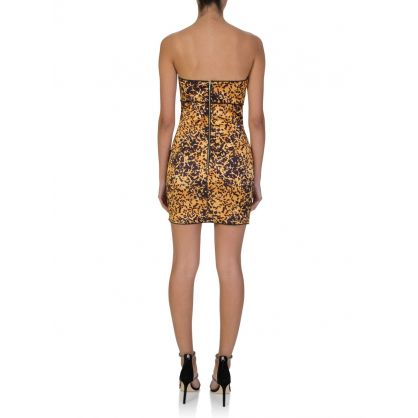 Tortoise Print Turtle Rock Mini Dress