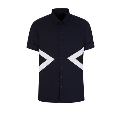 Navy Short Sleeve Shirt