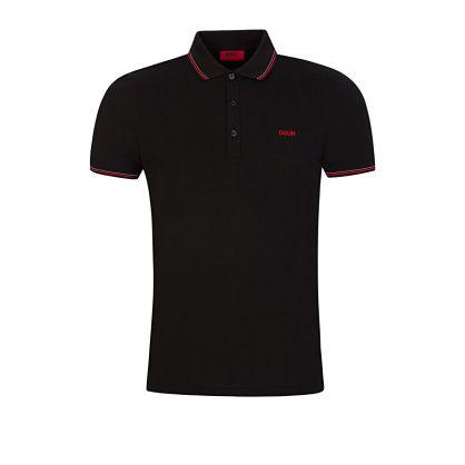 Black Dinoso202 Slim-Fit Polo Shirt