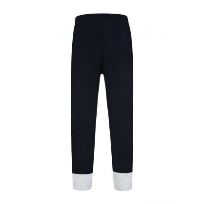 Navy Two-Tone Trousers