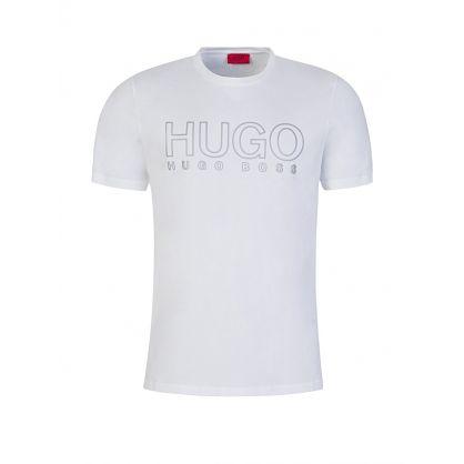White Dolive Logo T-Shirt