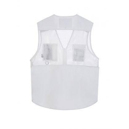 White Multi-Pocket Vest