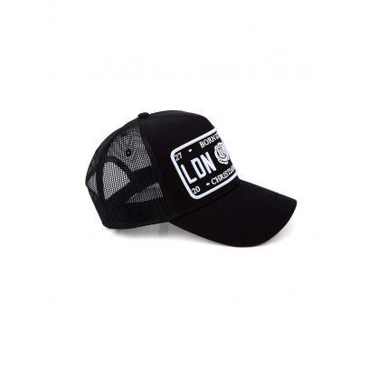 Black/White Iconic Trucker Cap