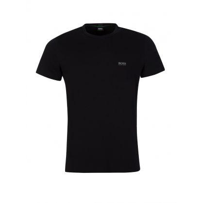 Black Logo Short Sleeve  T-Shirt