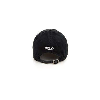 Black Chino Cap