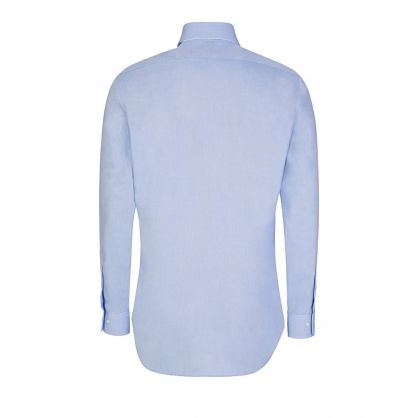 Blue Slim Fit Easy Care Shirt