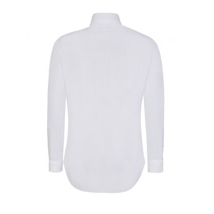 White Slim Fit Easy Care Shirt