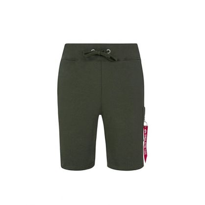 Green X-Fit Cargo Shorts