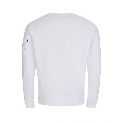 White X-Fit Sweatshirt