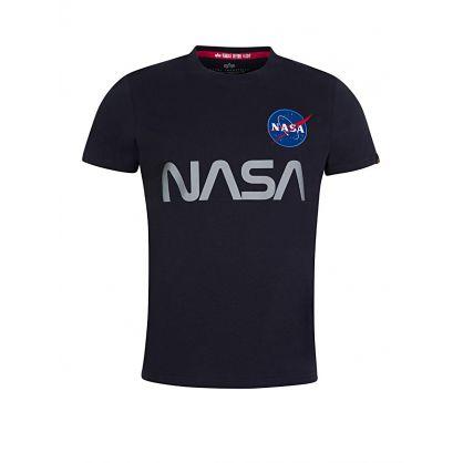 Navy Reflective NASA T-Shirt