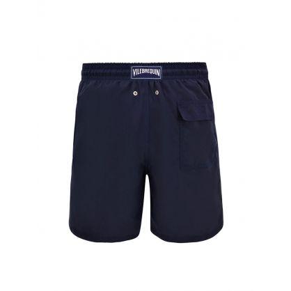 Plain Navy Swim Shorts