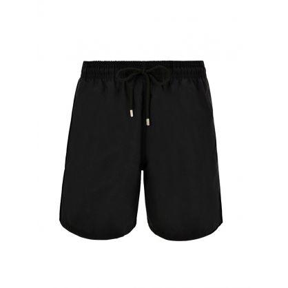 Plain Black Swim Shorts