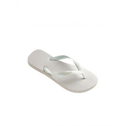 White Top Plain Flip Flops