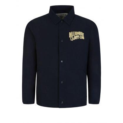 Navy Heart & Mind Coach Jacket