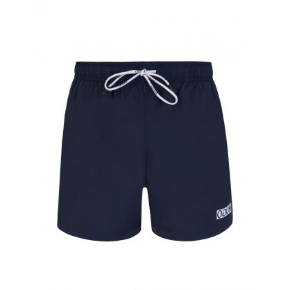 Navy Haiti Swim Shorts