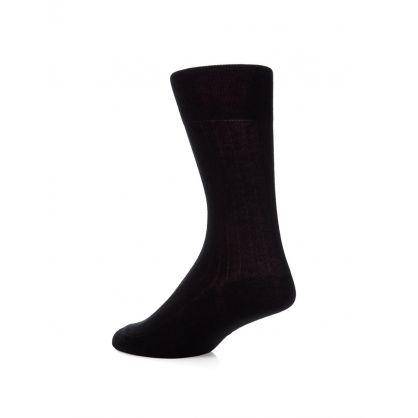 Black Egyptian Cotton Socks