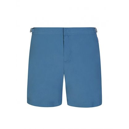 Blue Mid-Length Swim Shorts