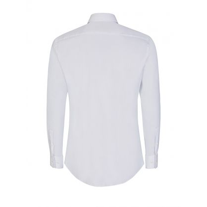 White Jango Slim Fit Tailored Shirt