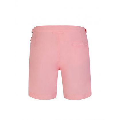 Pink Mid-Length Swim Shorts
