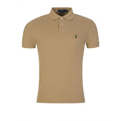 Khaki Slim Fit Polo Shirt